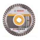 Disc diamantat, continuu, pentru debitare beton / piatra, Bosch Standard for Universal Turbo, 115 x 22.23 x 2 mm, 2608602393