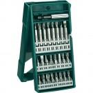Set 25 accesorii insurubare, Bosch Miniset X-Line, 2607019676