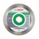 Disc diamantat, continuu, pentru debitare placi ceramice, Bosch Standard for Ceramic, 125 x 22.23 x 1.6 mm, 2608602202