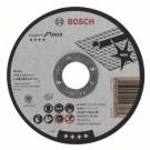 Disc continuu pentru debitarea inoxului Bosch, 115 x 22.23 x 1.6 mm