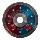 Disc  diamantat, continuu, pentru debitarea placi ceramice, Montolit CG115, 125 x 22.23 mm