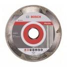 Disc diamantat, continuu, pentru debitare marmura, Bosch Best for Marble, 115 x 22.23 x 2.2 mm, 2608602689
