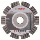 Disc diamantat, cu segmente, pentru debitare beton, Bosch Best for Concrete,  125 x 22.23 x 2.2 x 12 mm, 2608602652