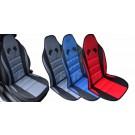 Husa auto pentru scaun, Air Mesh, cu tetiera, diverse culori, 25 x 18 x 2 cm