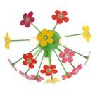 Plafoniera pentru copii Flowers 04-350, 3 x E14 + LED 15 x 0.06W