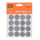 Protectie autoadeziva pentru pardoseala, Holzer EWFT202, forma rotunda, 22 mm, set 16 bucati