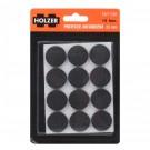 Protectie autoadeziva pentru pardoseala, Holzer EWFT280, forma rotunda, 25 mm, set 12 bucati