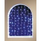 Perdea Craciun, Hoff, 120 LED-uri albe, 1 x 1.2 m, controler, interior / exterior