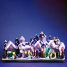 Sat cu 27 LED-uri multicolore, Hoff, alimentare priza