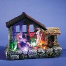 Iesle cu 4 LED-uri multicolore, Hoff, alimentare baterii
