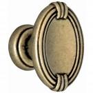Buton pentru mobila, metalic, alamit antic, 28 x 20 x 18 mm