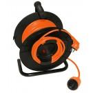 Derulator cablu Hepol 27m+3m 3X1.5mmp