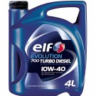 Ulei motor auto Elf Evolution 700 Turbo Diesel, 10W-40, 4 L