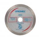 Disc diamantat, continuu, pentru debitare placi ceramice, Dremel DSM20, 20 mm, 2615S540JA