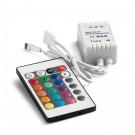 Controler banda LED RGB + telecomanda CTR001