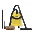 Aspirator Karcher WD 2, cu sac, multifunctional, aspirare uscata si umeda, 12 l, 1000 W