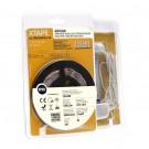 Banda LED biadeziva Arelux Xtape 12V 4.8W lumina alba calda 2.5 m IP20