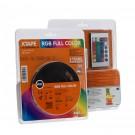 Banda LED biadeziva Arelux Xtape 12V 14.4W RGB 2.5 m IP20