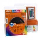 Banda LED biadeziva Arelux Xtape 12V 14.4W RGB 2.5 m IP64