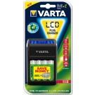 Incarcator LCD 4 acumulatori AAA ( R3 ) / AA ( R6 ) / 9V, 2100 mAh, Varta