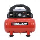 Compresor aer cu piston, fara ulei,  Black&Decker BD 55/6, 0.3 Kw, 0.5 CP, 6 litri