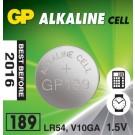 Baterie AG10 alcalina GP189-BL10