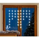 Turturi stelute Craciun, Hoff, 40 LED-uri albe, 70 x 70 cm, controler, interior / exterior
