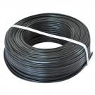 Cablu electric MYYUP / H03V2V2H2-F 2 X 0.75 mmp negru