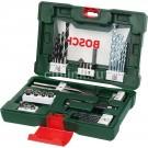 Set 41 accesorii, Bosch V-Line, 2607017316 + geanta