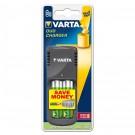 Incarcator 2 acumulatori AAA ( R3 ) / AA ( R6 ), 1600 mAh, Varta Duo