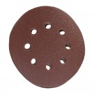 Disc abraziv cu autofixare, pentru lemn / metal / glet, Lumytools LT08560, 125 mm, granulatie 100, set 10 bucati