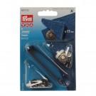 Set nasturi metalici, pentru blugi, 16 mm + sistem de atasare, Prym
