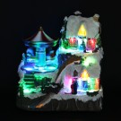 Carusel LED, Hoff, alimentare baterii