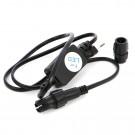 Accesorii cablu luminos LED negru 11mm