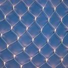 Plasa Craciun, Hoff Net, 108 LED-uri albe cu lumina calda + 12 LED-uri flash, 2 x 2 m, interior / exterior, cablu alb