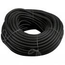 Tub flexibil metalic izolatie PVC D18 mm