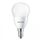 Bec LED Philips mini P48 FR E14 7W lumina neutra