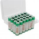 Baterie Hoff, LR6 / AA, Alkaline, 24 buc