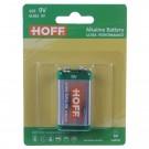 Baterie Hoff, 6LR61 / 9V, Alkaline