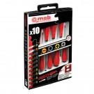 Set 10 surubelnite + magnetizator/demagnetizator