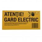 Panou de avertizare pentru gard electric