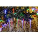 Instalatie brad Craciun 50 LED-uri Bubble stick multicolore, 4.9 metri, controler, interior / exterior