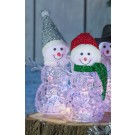 Om zapada decoratiune 10 LED-uri multicolore, alimentare baterii