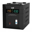 Stabilizator de tensiune triac Well Agile 3000VA / 2100W