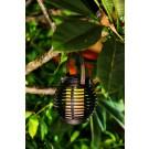 Decoratiune solara LED palpaitor Hoff, felinar, tip ratan