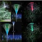 Lampa solara Hoff, fibra optica RGB, 100 cm