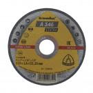 Disc debitare inox si metal, Klingspor A 346 Extra, 115 x 22.23 x 1.6 mm