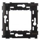 Suport Hoff, 2 module, neagra, 73 x 73 x 15 mm