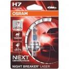 Bec auto Osram H7 Night Breaker Laser, PX26D, 55 W, 12 V