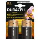 Baterie Duracell Basic, R20 / D, Alkaline, 2 buc